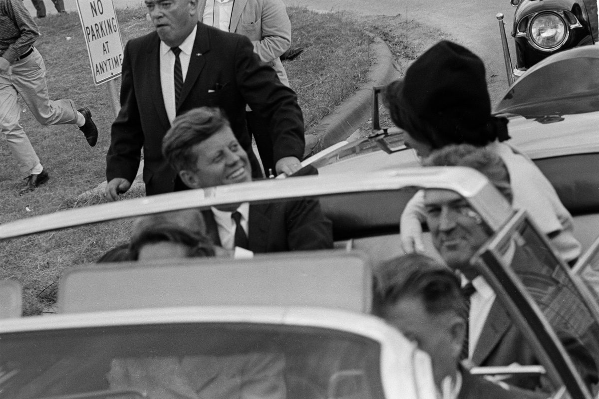 an account of events during the assassination of president john f kennedy in 1963 A scarce and sought after raised invitation to the event that john f kennedy was scheduled to appear at in dallas texas on november 22, 1963 the day of the president's assassination it is numbered on reverse.