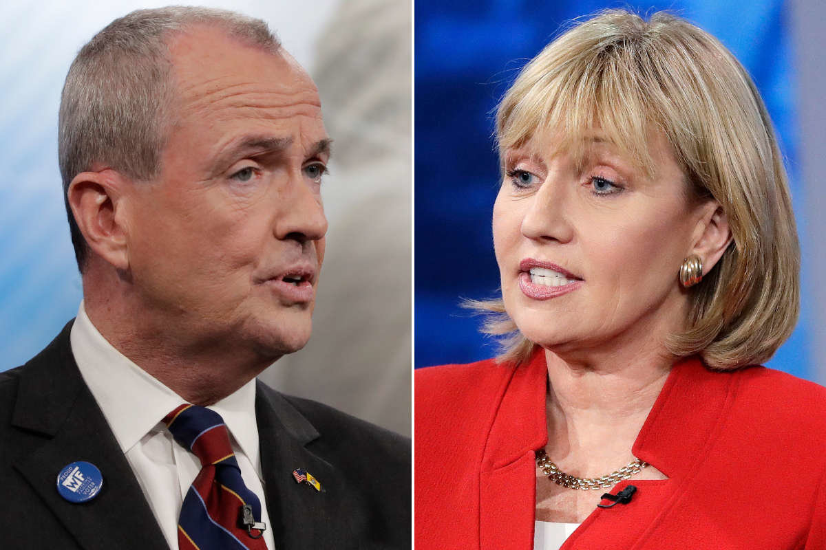 Democrat Phil Murphy and Republican Kim Guadagno are running for governor of New Jersey.