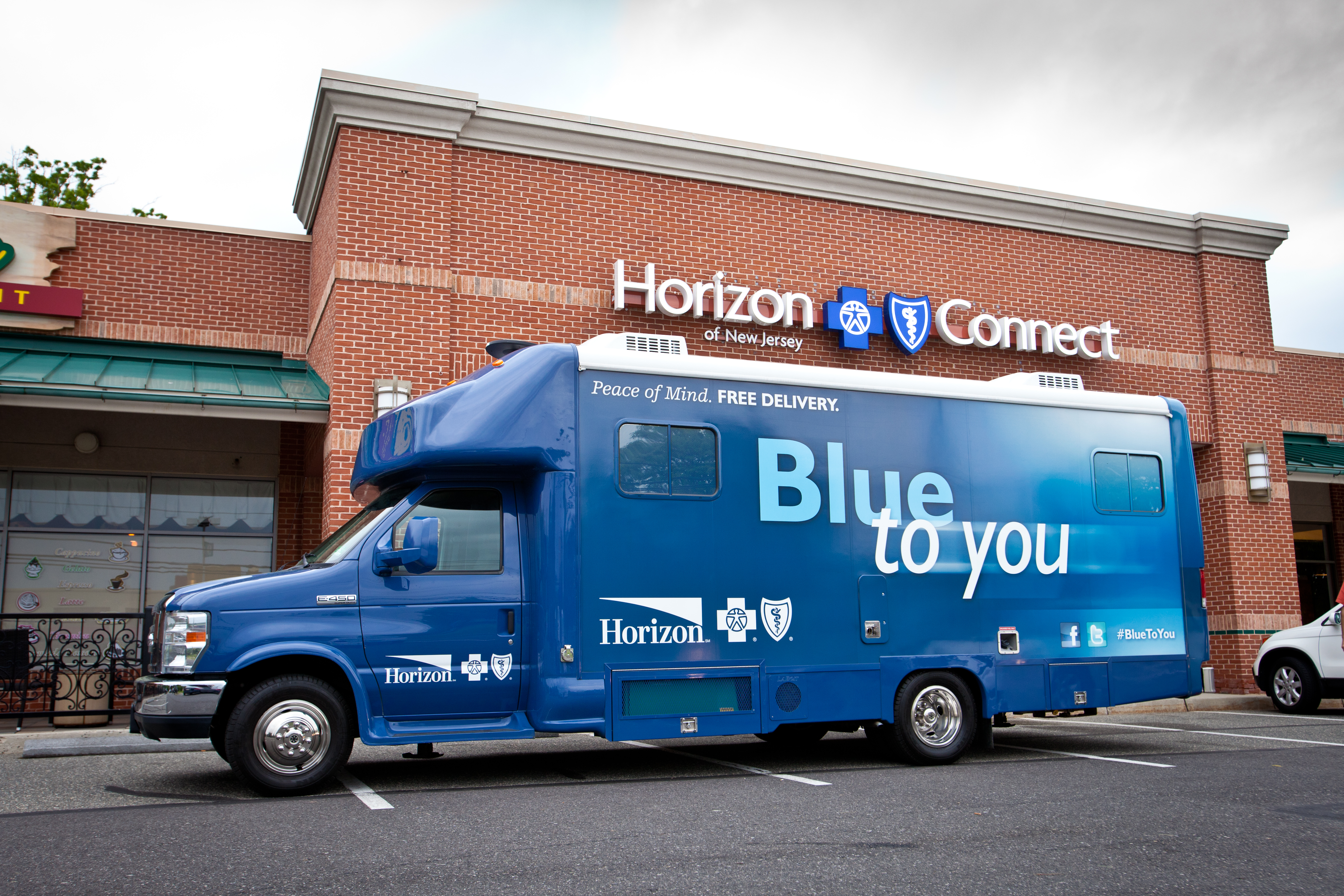 Horizon Blue Cross Blue Shield of New Jersey will use its Blue to You van to reach consumers during this year´s open enrollment season for Affordable Care Act health insurance.