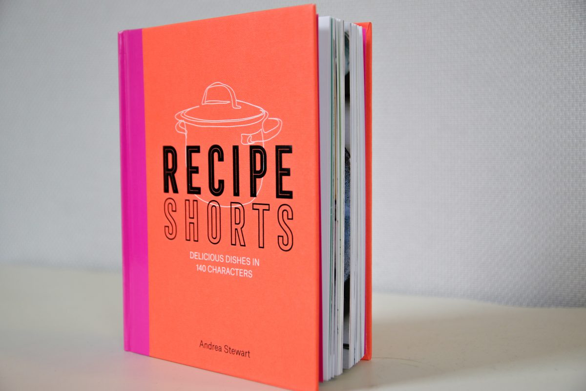 """The """"Recipe Shorts"""" cookbook by Andrea Stewart."""