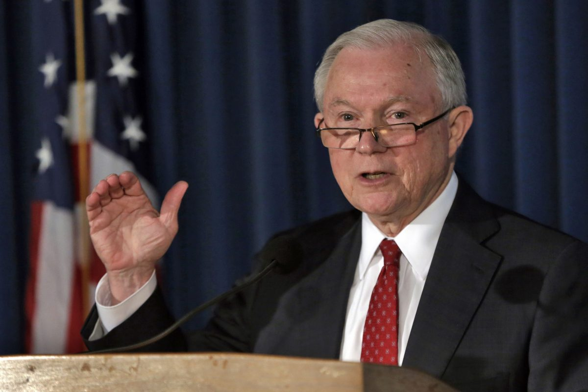"U.S. Attorney General Jeff Sessions has been sued by the city  over federal grant money that is being denied to ""sanctuary cities."""