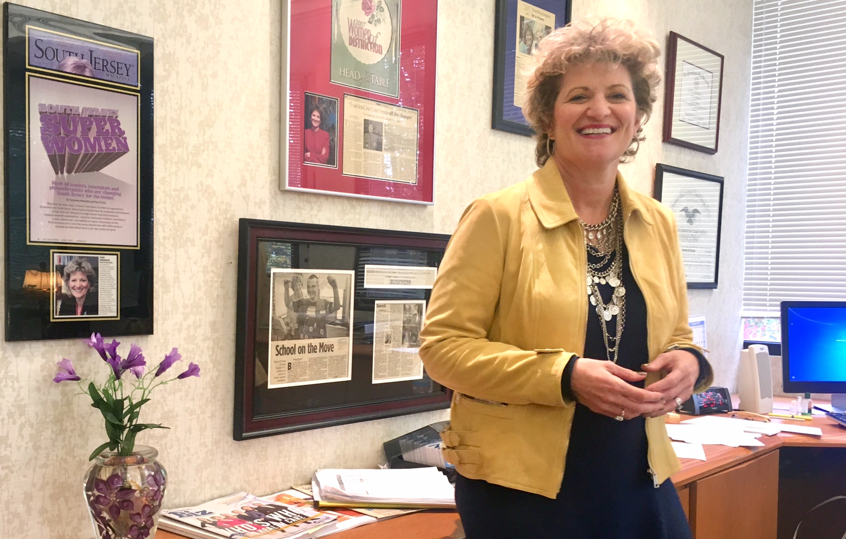 Toni Pergolin, who has headed Haddonfield´s venerable Bancroft campus since 2004, says the decision to leave the borough was not made lightly.