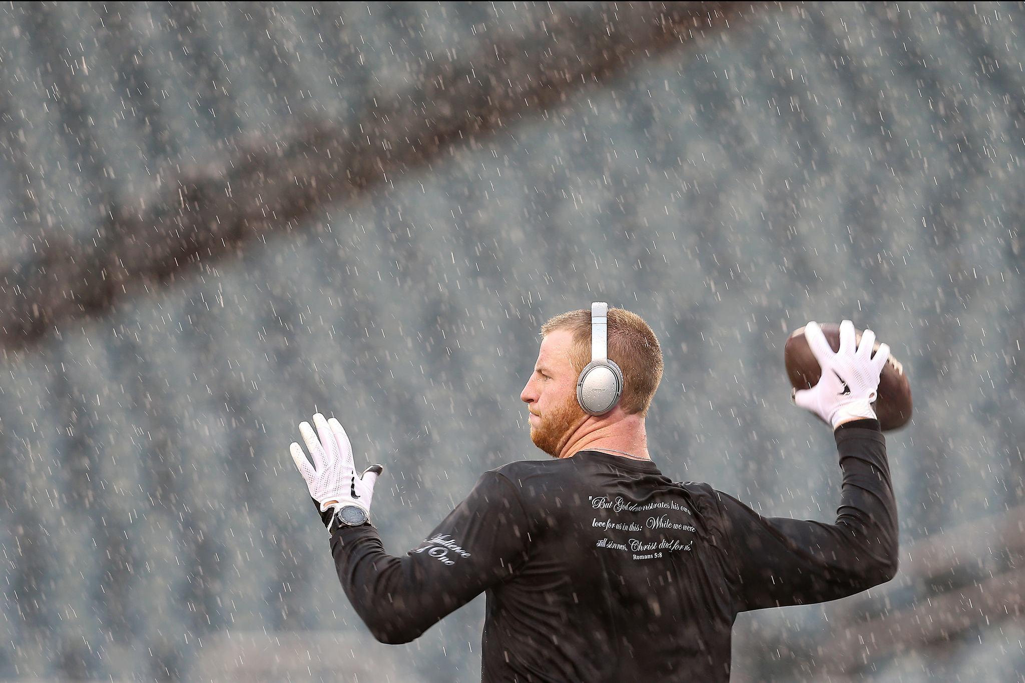 Eagle quarterback Carson Wentz.