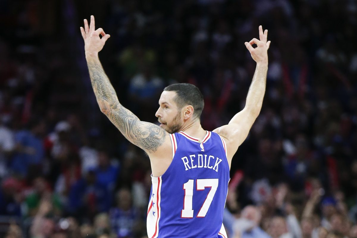 Image result for JJ redick sixers rebound