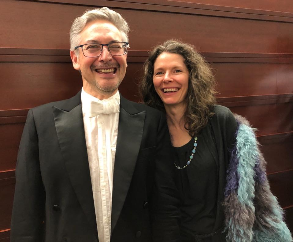 Philadelphia Orchestra cellist John Koen and Edie Brickell
