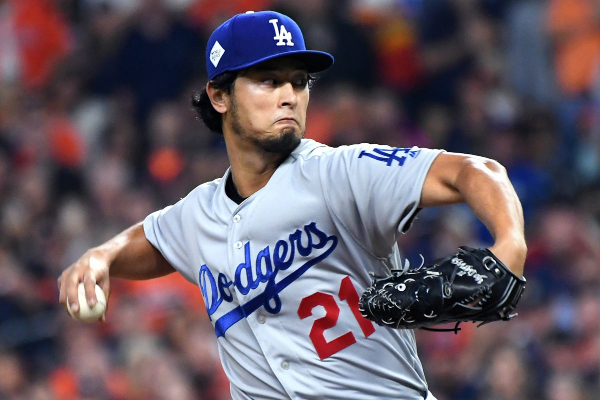 Los Angeles Dodgers pitcher Yu Darvish is one of the biggest names available in Major League Baseball free agency.