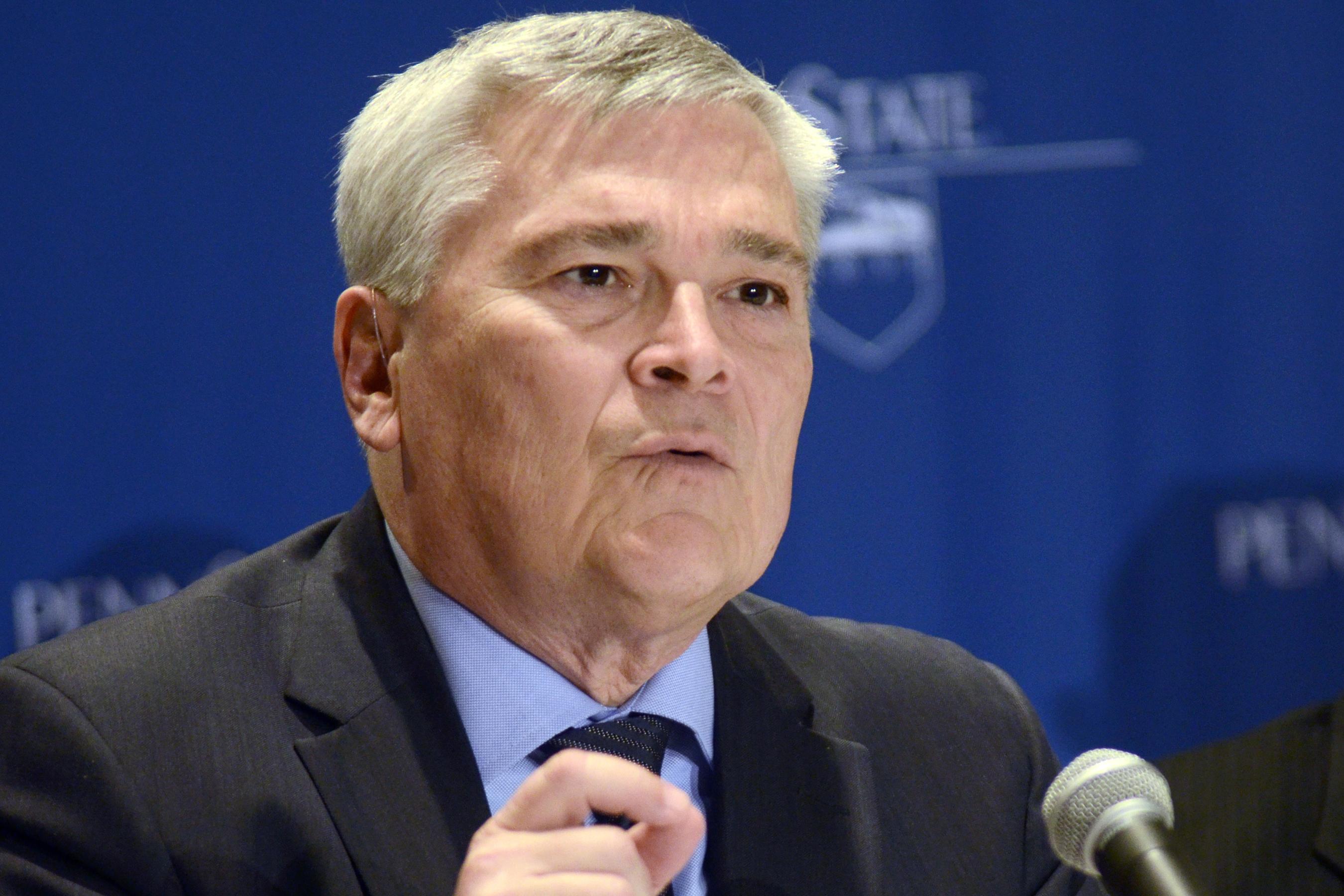 Penn State President Eric Barron.