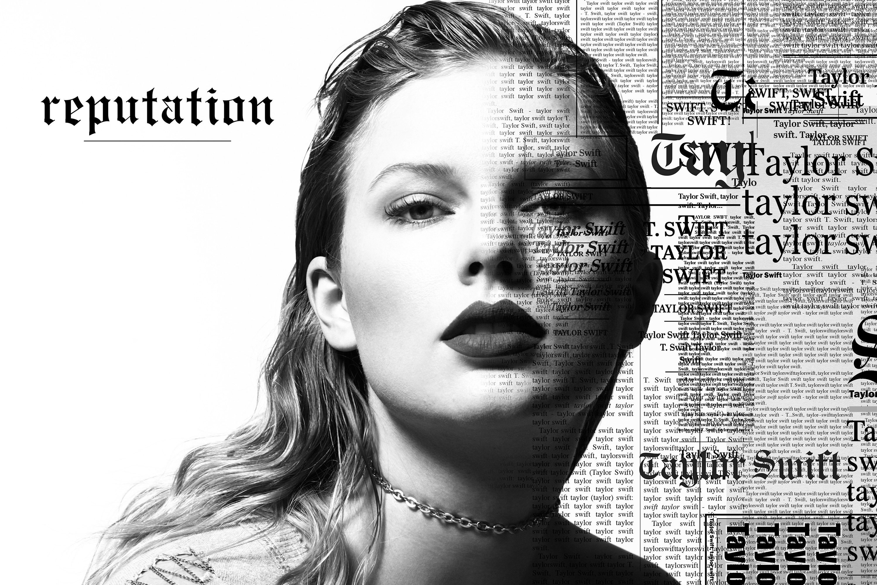 "Cover art for Taylor Swift´s upcoming album, ""Reputation,"" expected Nov. 10."