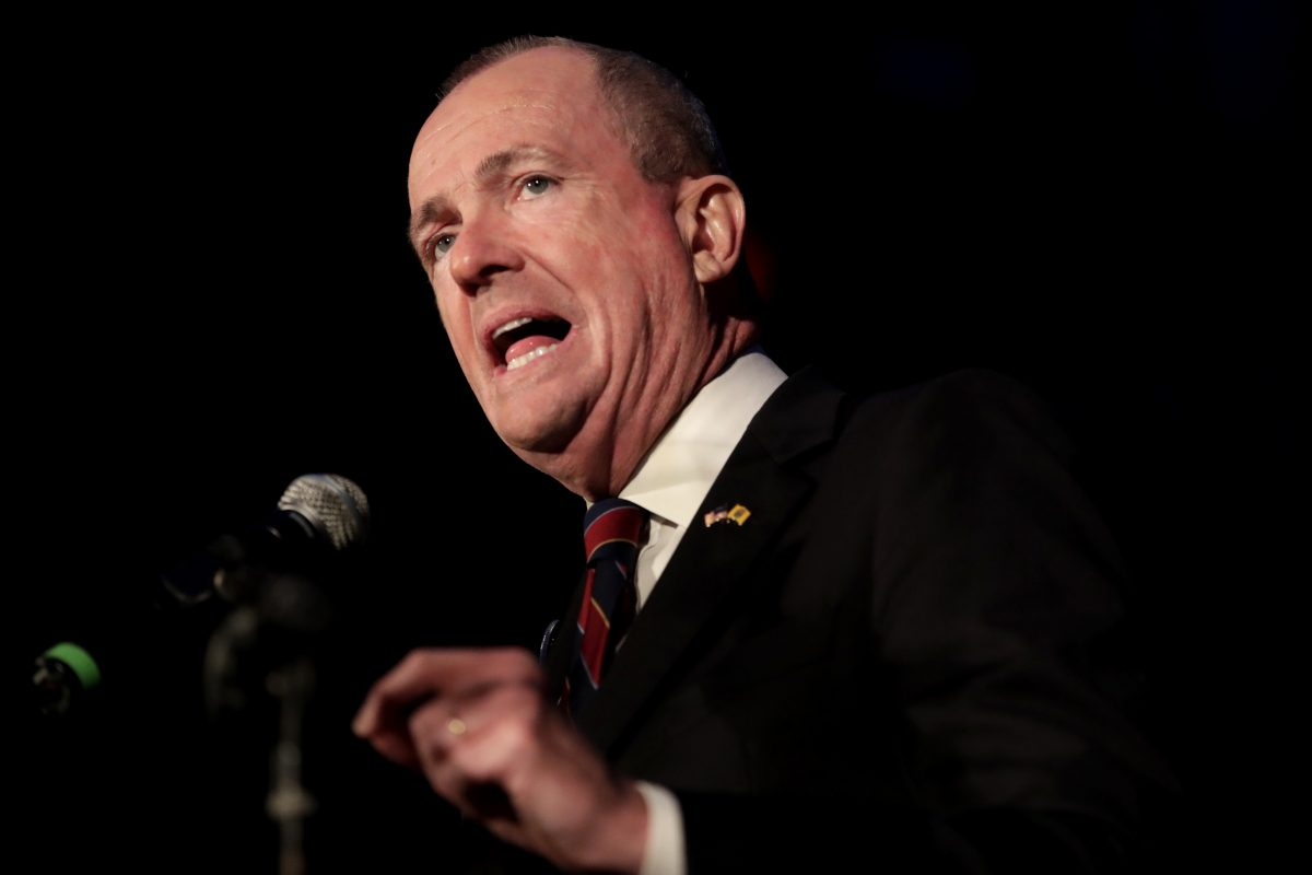 During his first public event with legislative leaders Monday, New Jersey Democratic Gov.-elect Phil Murphy says New Jersey´s minimum wage should be raised to $15 an hour.