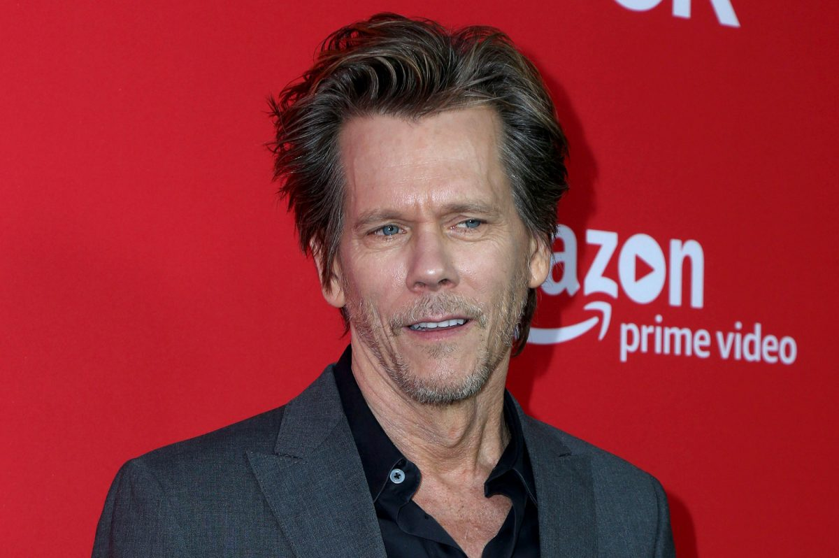 "Kevin Bacon at the ""I Love Dick"" Premiere on April 20, 2017 at the Linwood Dunn Theater in Los Angeles, Calif."