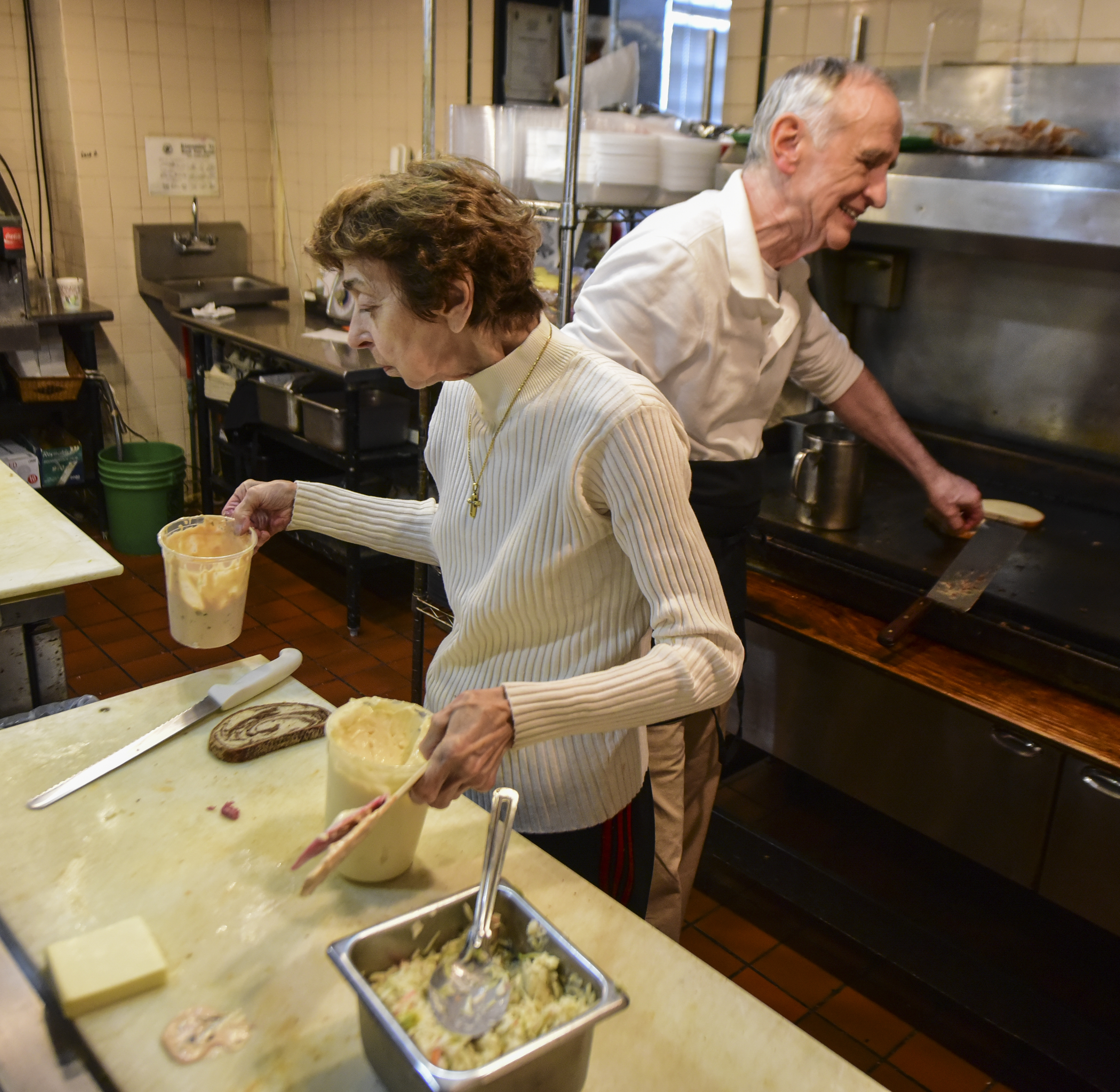 Jim Landis, 79, and his sister Renee Platt, 85, who have been working side-by-side for 50 years in Wayne´s Landis Restaurant & Catering, have decided to retire, hoping someone will step up to keep their Main Line eatery going.