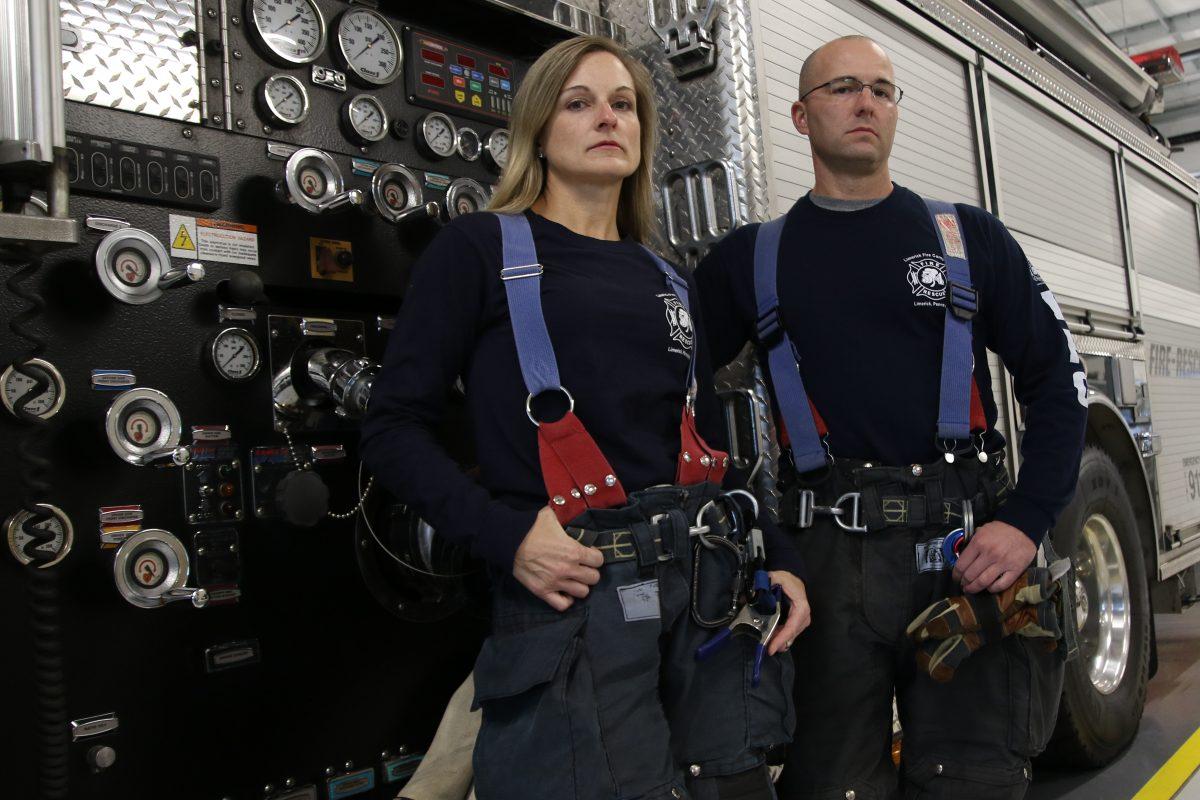 Firefighter studies heart disease in her peers
