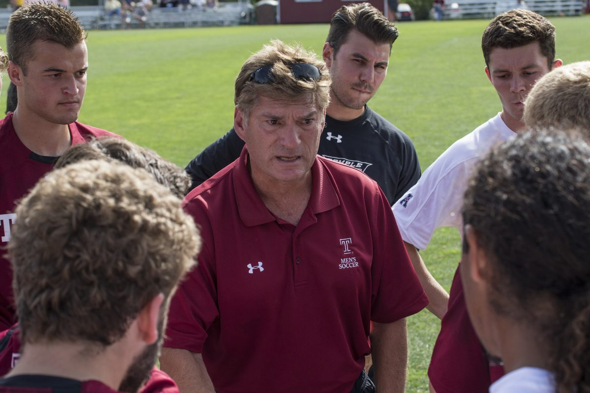 Temple head men's soccer coach David MacWilliams was dismissed after 18 years in the job.