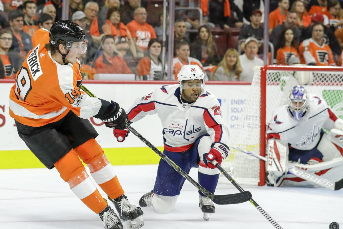 Philadelphia Flyers rookie center Nolan Patrick returned to his Winnipeg home and had a venison dinner cooked by his dad on Wednesday, ahead of the Flyers' game against the Jets.