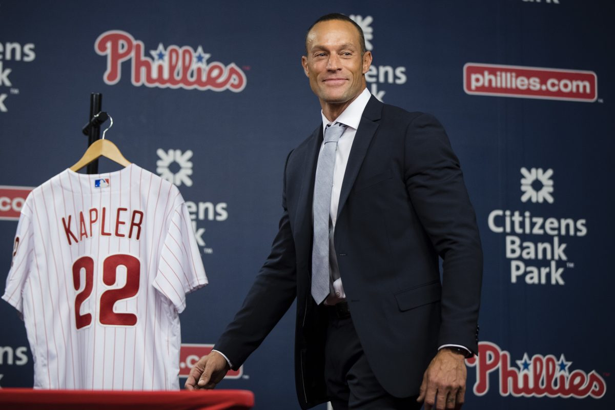 New Phillies manager Gabe Kapler has yet to fill his entire coaching staff.