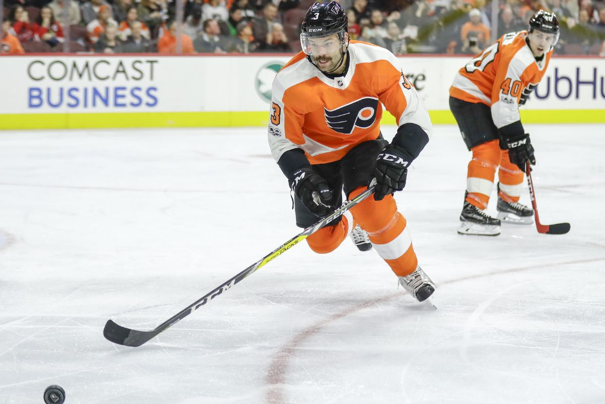 Flyers defenseman Radko Gudas, left, is likely to be suspended again.