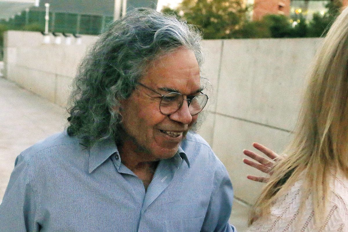 Insys Therapeutics founder John Kapoor leaves U.S. District Court in Phoenix in October, where he was arrested on charges of leading a nationwide conspiracy to bribe doctors and pharmacists to widely prescribe an opioid cancer drug for people who didn't need it. Kapoor was arraigned in the case Thursday in federal court in Boston.