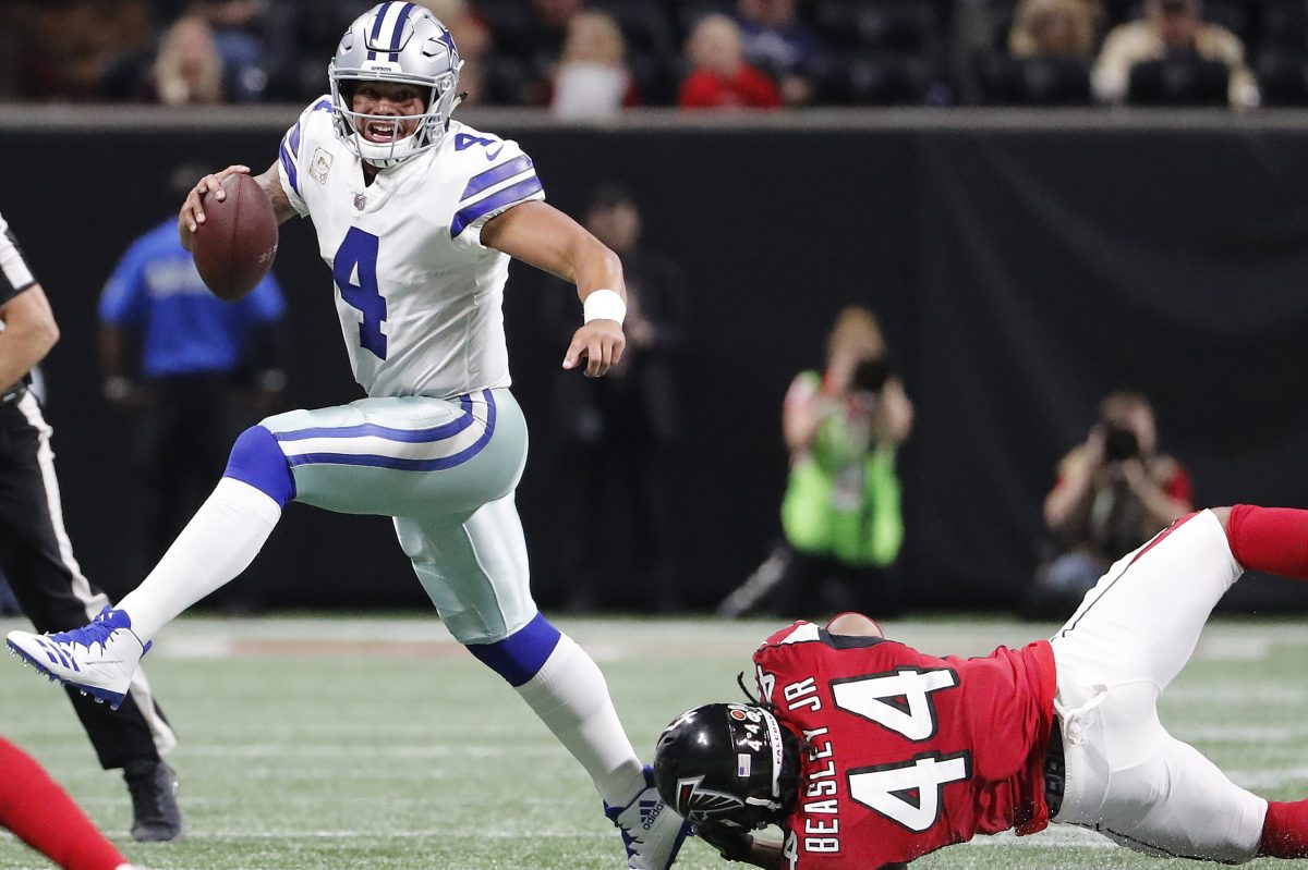 Dak Prescott´s read option skills could boost the troubled Dallas running attack.