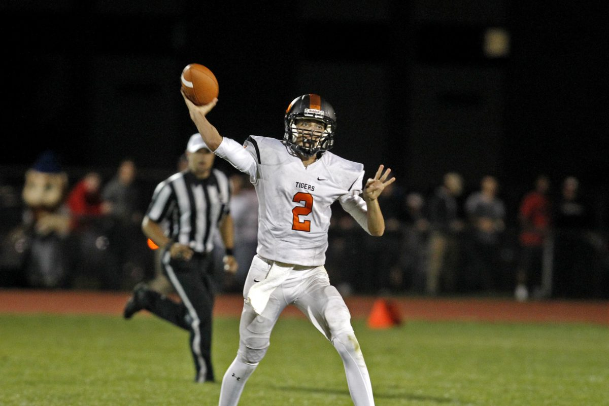 Woodrow Wilson junior quarterback Nick Kargman is among South Jersey's leaders in touchdown passes with 14.