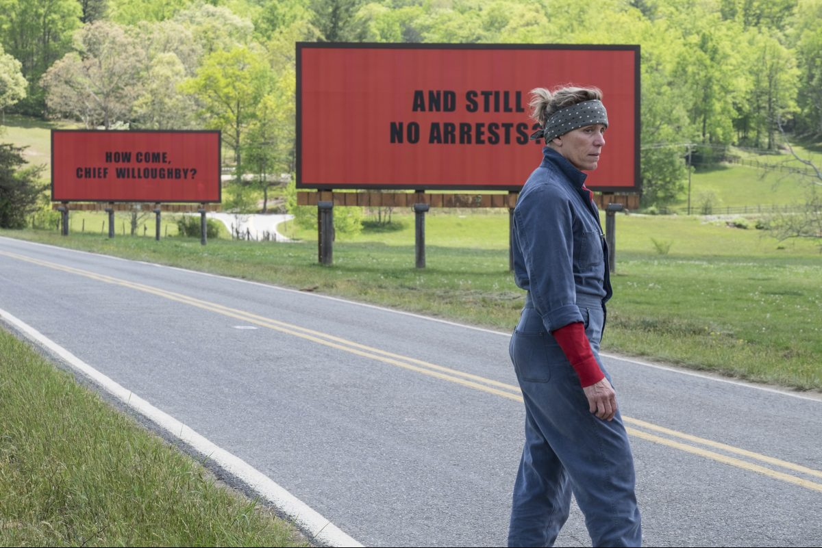 Frances McDormand in 'Three Billboards Outside of Ebbing, Missouri'