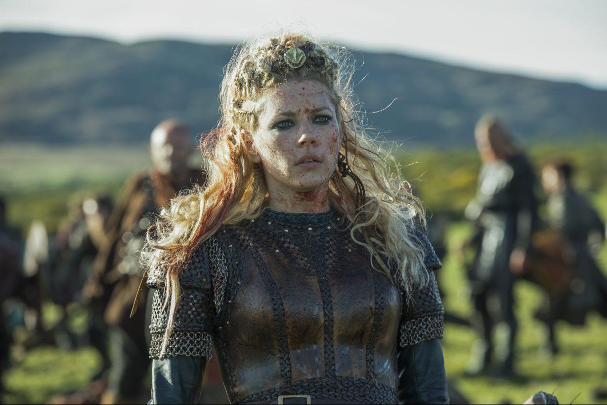 """Katheryn Winnick in """"Vikings."""""""