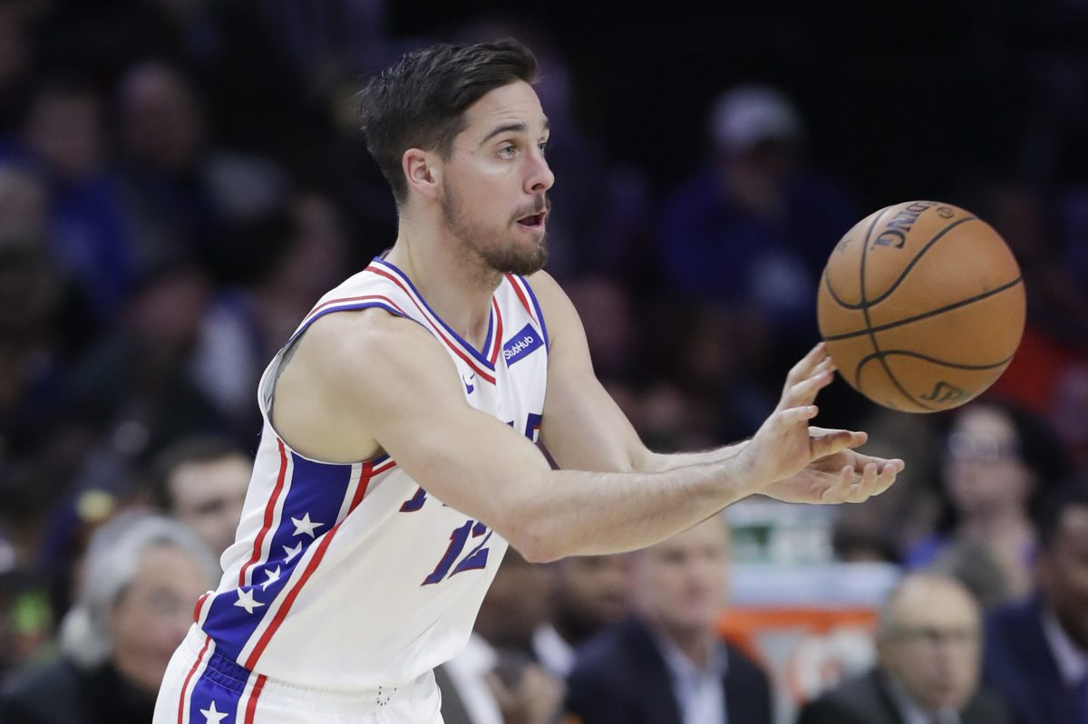 T.J. McConnell is one of the Sixers providing quality minutes off the bench.