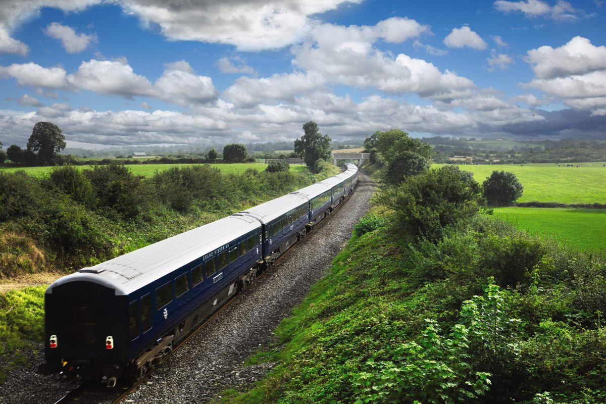 Ireland by train luxurious travel from busy belfast to for Waterford grand