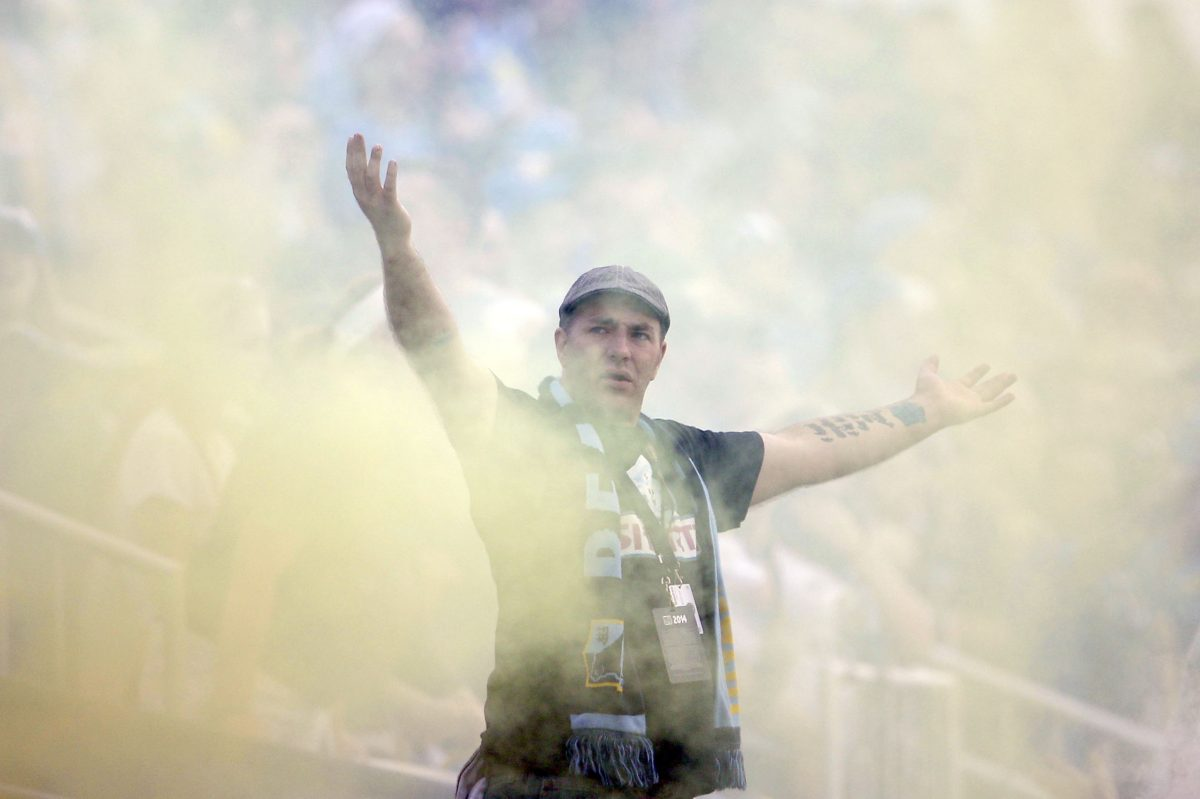 Philadelphia Union chief business officer Tim McDermott coordinates the team's relationship with the Sons of Ben supporters' club, the team's most loyal fans.