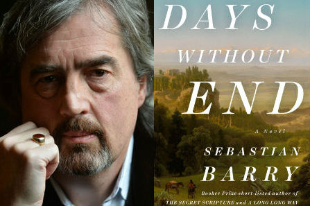 "Sebastian Barry, author of ""Days Without End."""