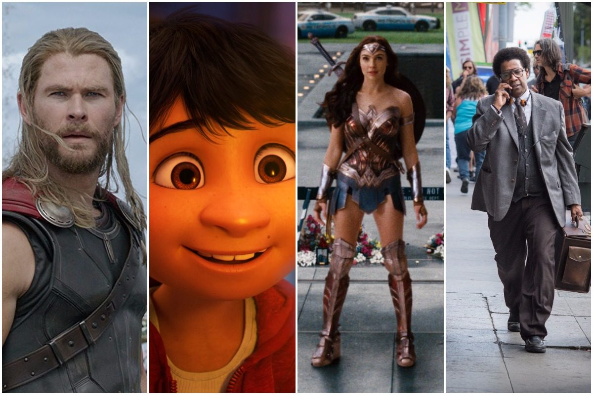 What movie should you see this Thanksgiving? ´Thor: Ragnorak,´ ´Coco,´ ´Justice League,´ or ´Roman J. Israel Esq.´?