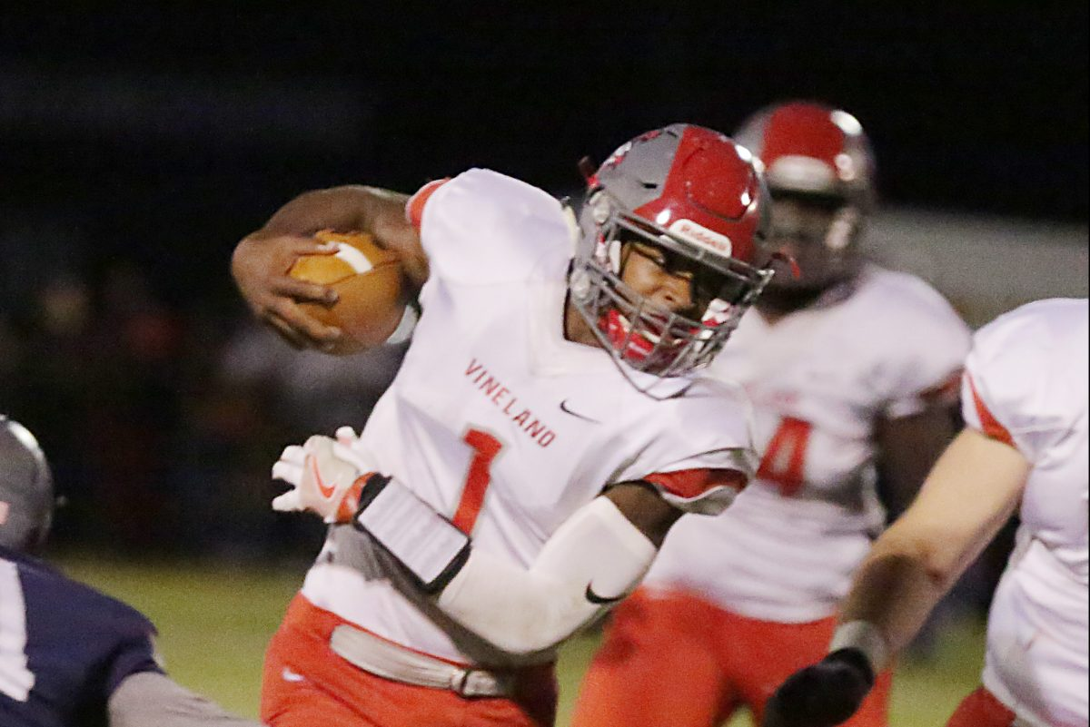 Vineland senior Isaih Pacheco, a Rutgers recruit, is one of South Jersey's top quarterbacks