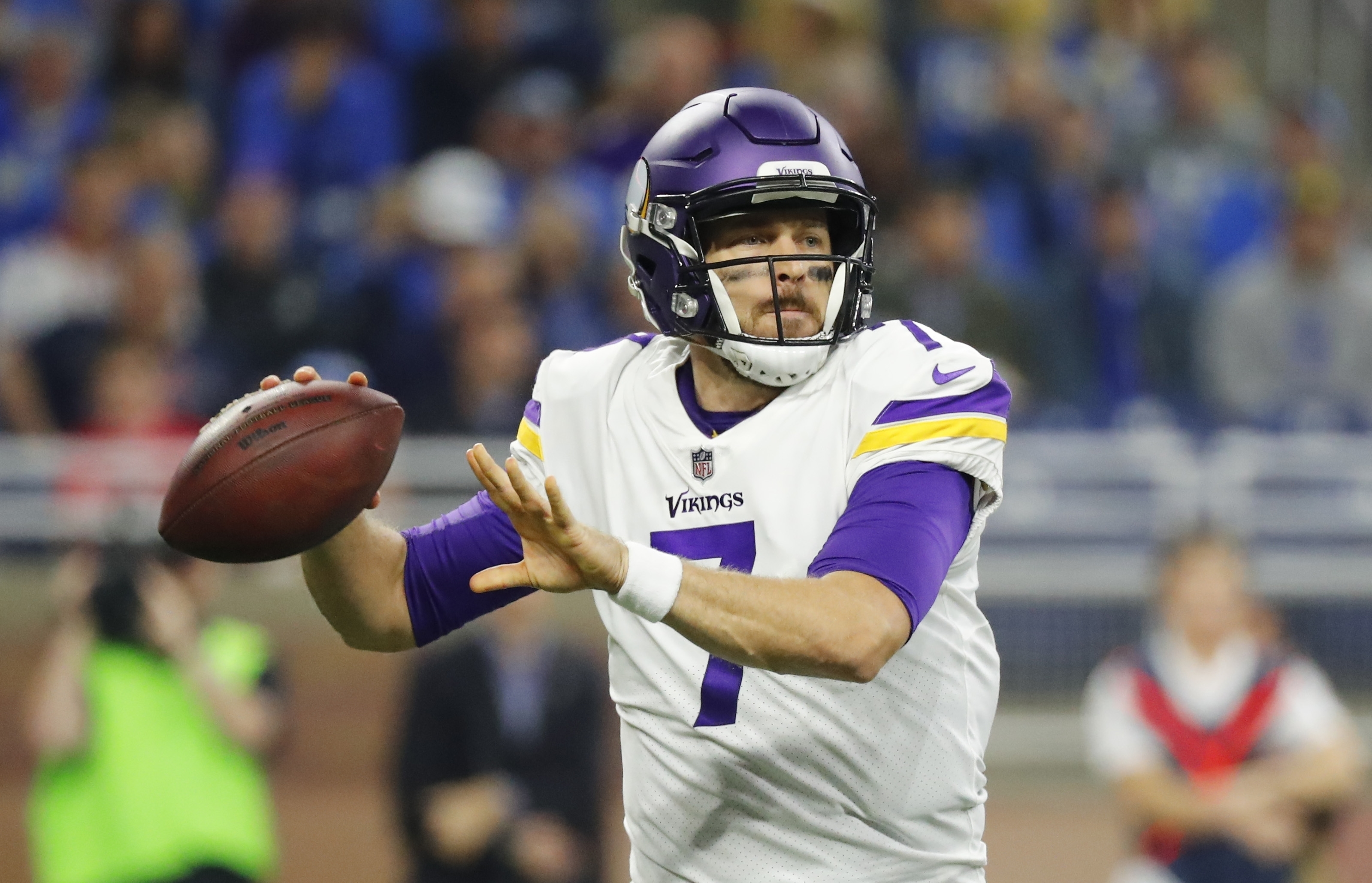 The Minnesota Vikings are 9-2 overall and 7-2 with journeyman Case Keenum as their starting quarterback.(AP Photo/Rick Osentoski)