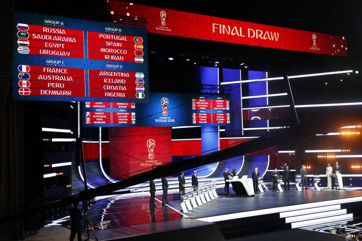 2018 FIFA World Cup group draw: Spain-Portugal, Argentina-Iceland, Mexico-Germany among top games