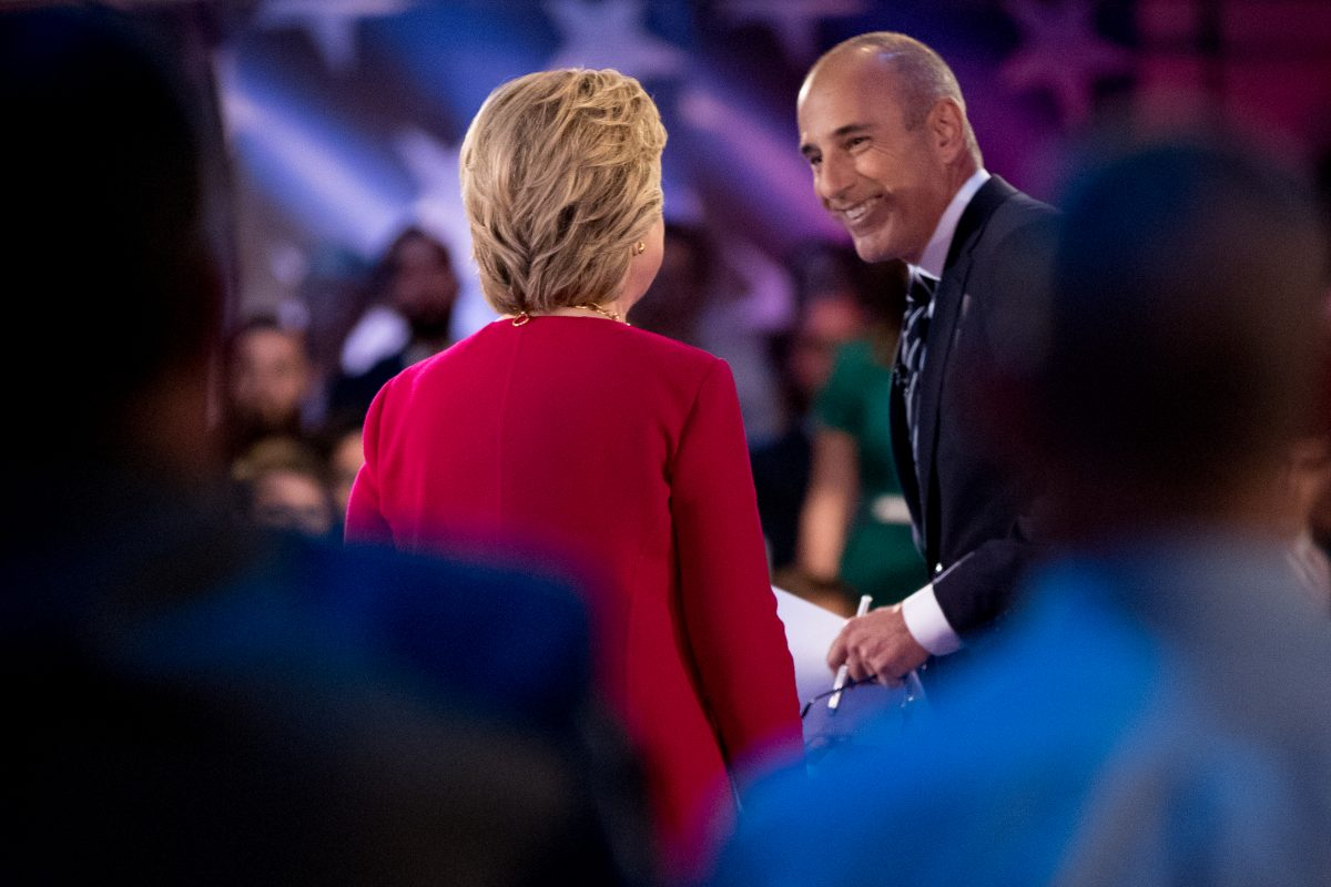 Allegations against Matt Lauer and other newsmen spark old memories | Jenice Armstrong