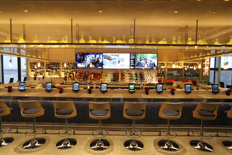 Baba Bar at Philadelphia International Airport.