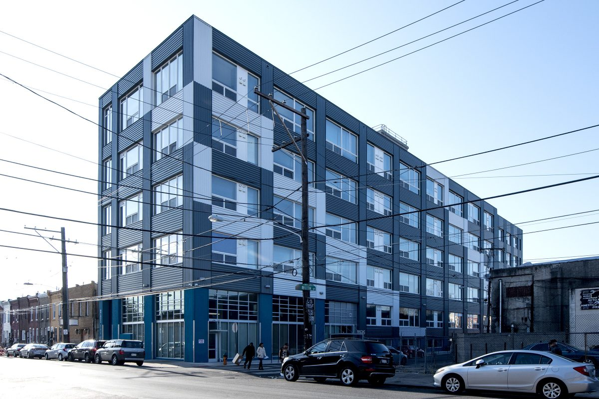Orinoko Civic House is a former industrial building on Ruth Street that was retrofitted as affordable housing by the New Kensington Community Development Corp. There are 51 units for families and individuals earning less than $41,000 a year.