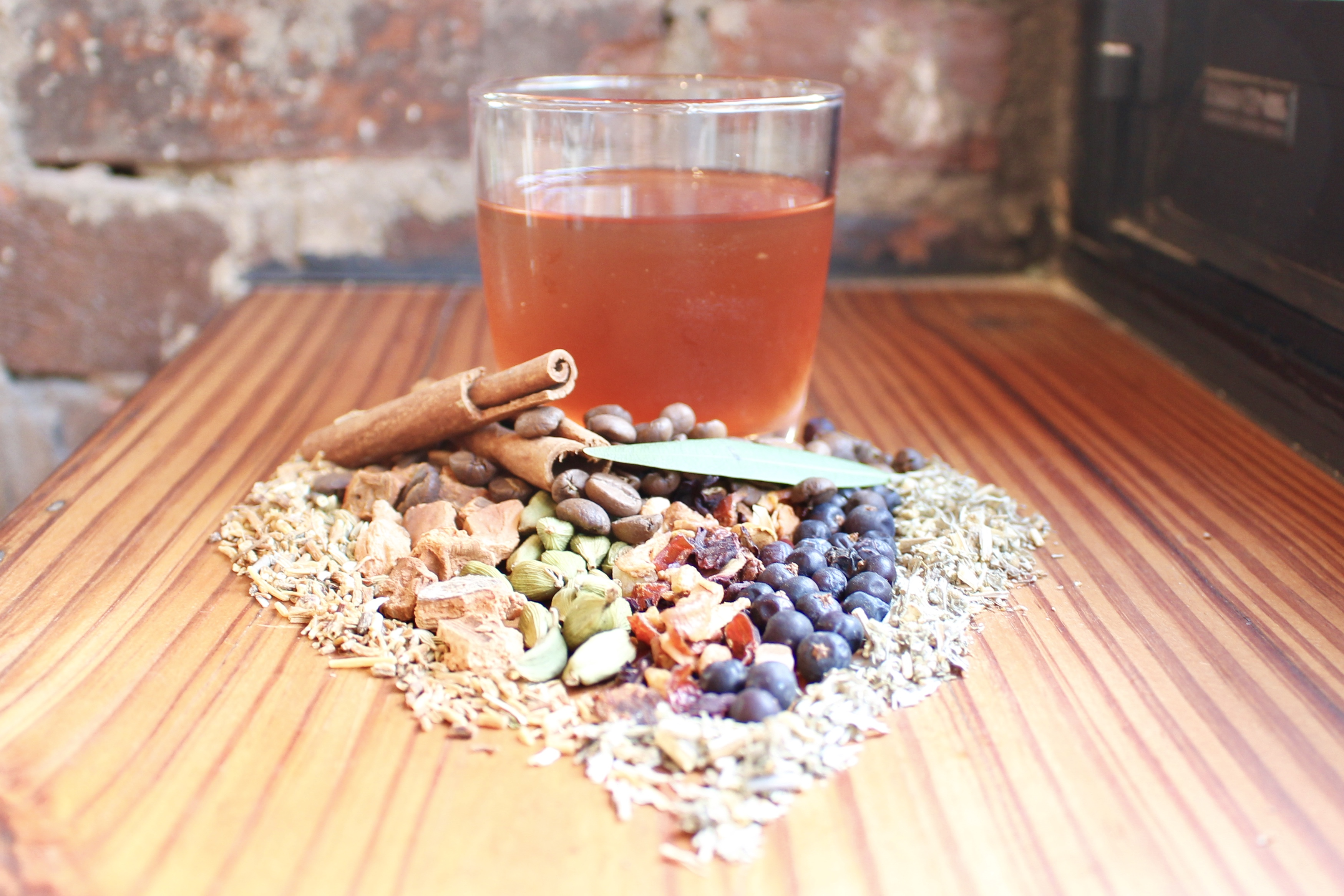 Plenty Cafe´s housemade sweet vermouth is steeped from nearly 20 botanicals.