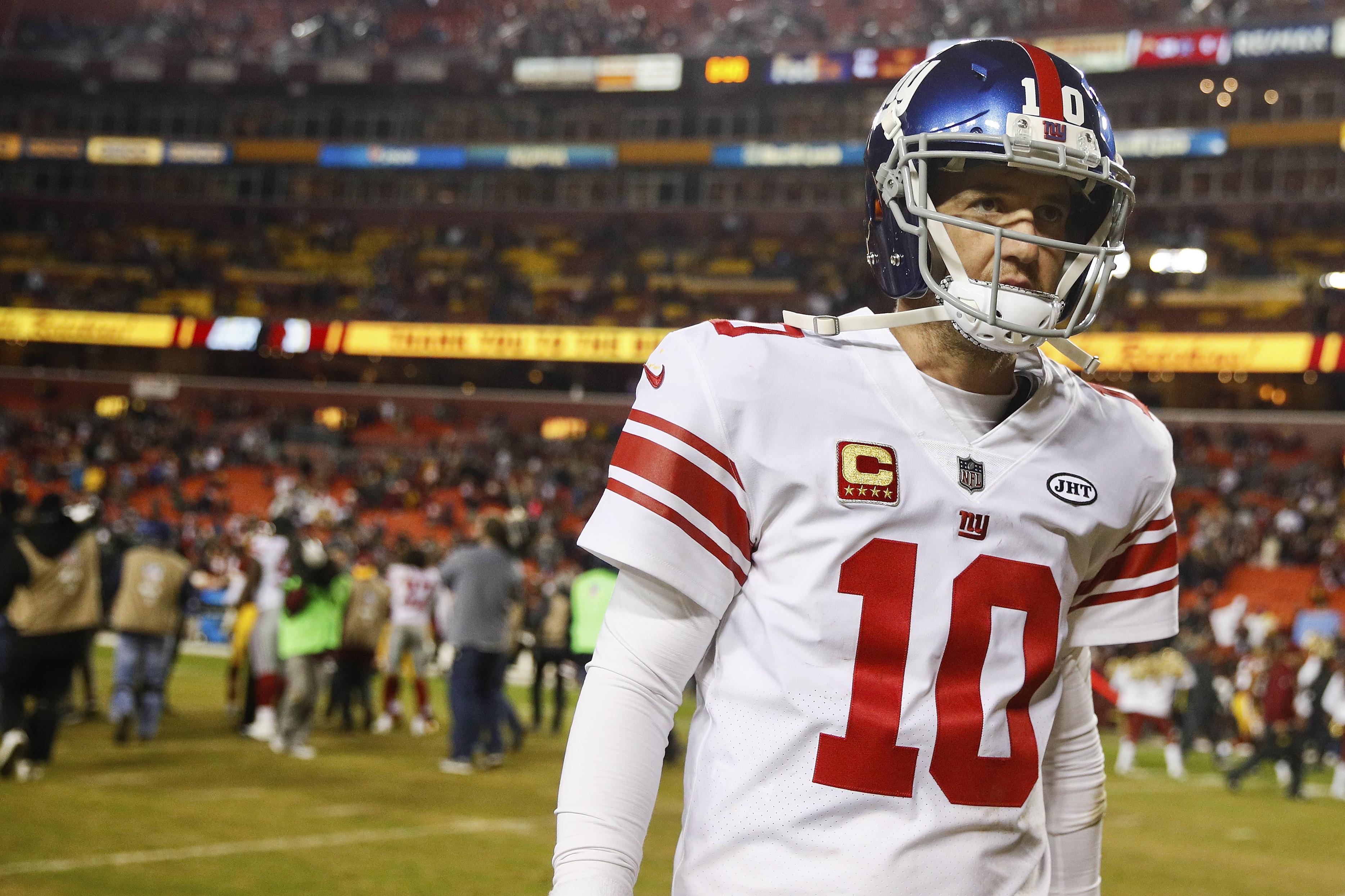 Giants quarterback Eli Manning.