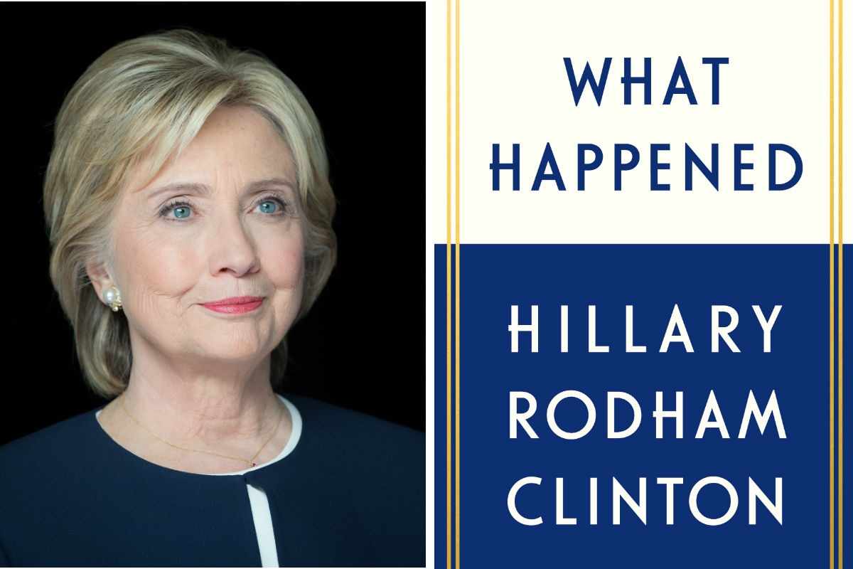 """Hillary Rodham Clinton, author of """"What Happened."""""""