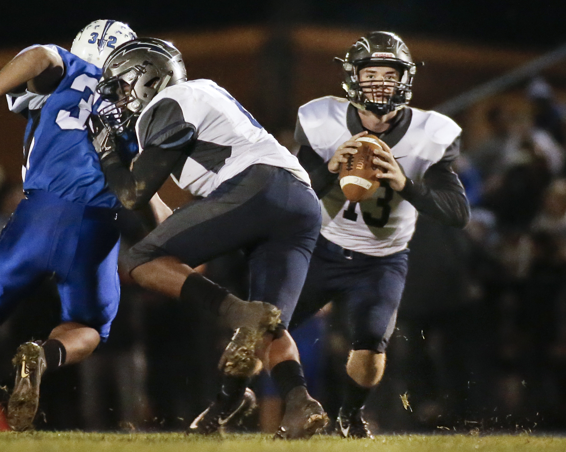 Timber Creek quarterback Devin Leary