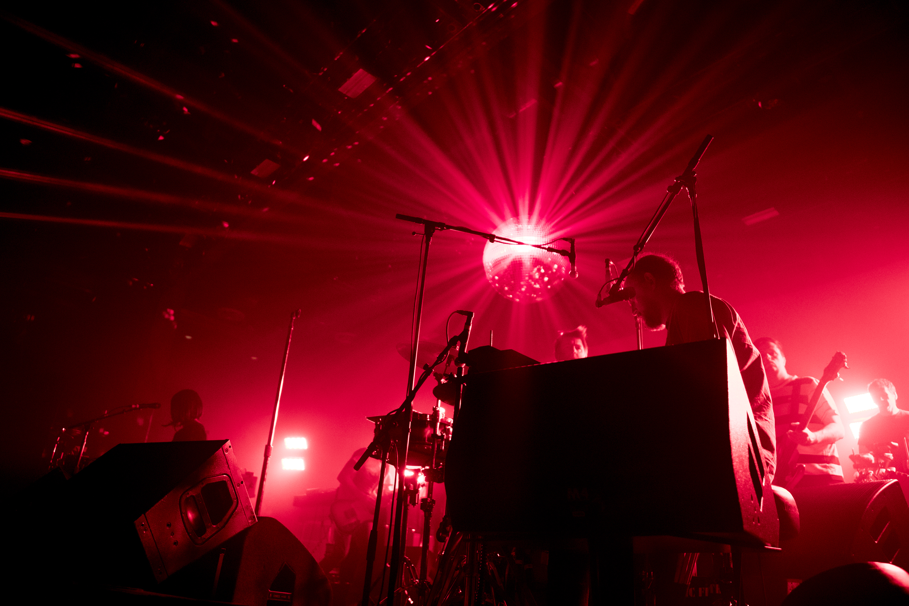 LCD Soundsystem is playing the first of three sold out shows at the Fillmore on Dec. 5, 2017. CHARLES FOX / Staff Photographer