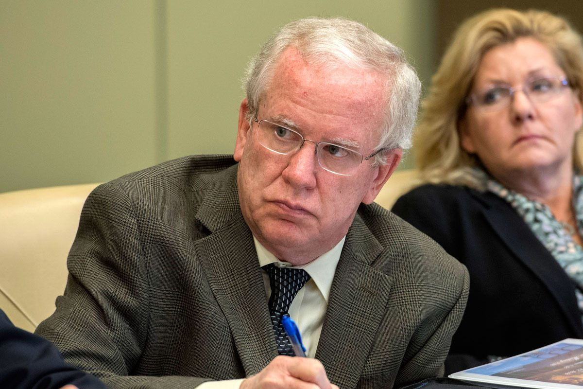 Vincent J. Fenerty Jr. stepped down as executive director of the Philadelphia Parking Authority in September 2016. He had remained in his role after admitting sexually harassing a coworker in 2015.