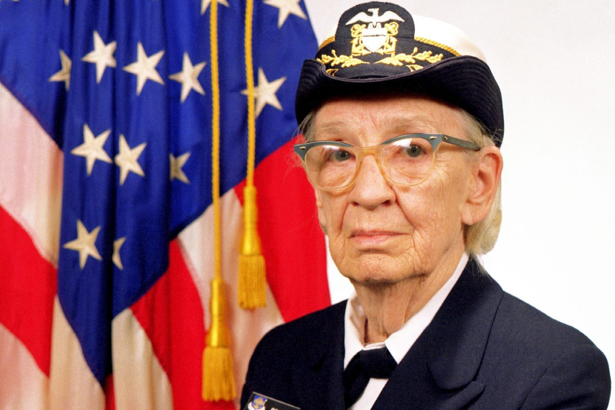 Adm. Grace Hopper was one of the first computer programmers in the country, coding Harvard's Mark I computer during World War II.
