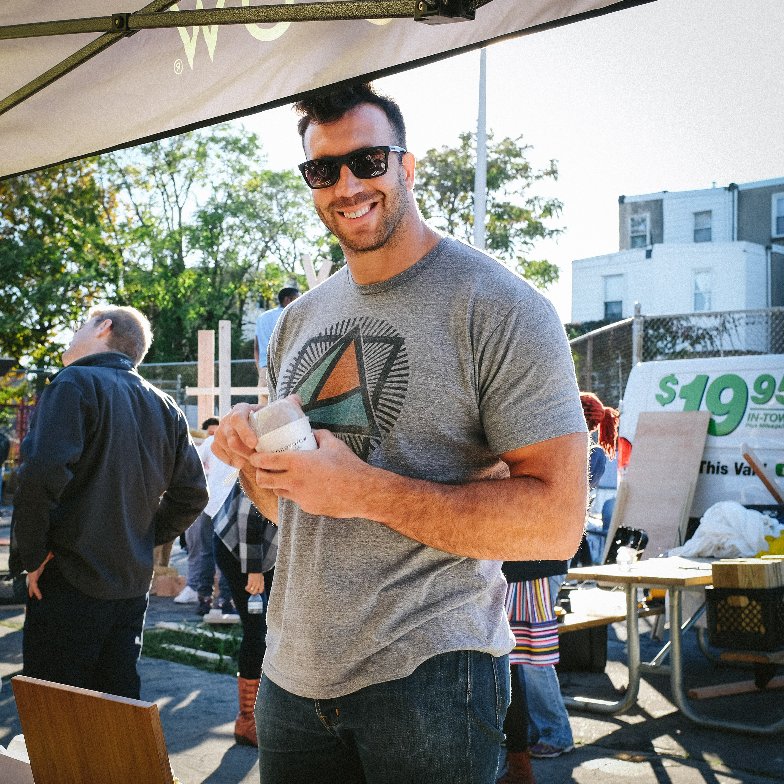 Connor Barwin at Waterloo Playground back in October 2016. PHOTO: Kyle Huff