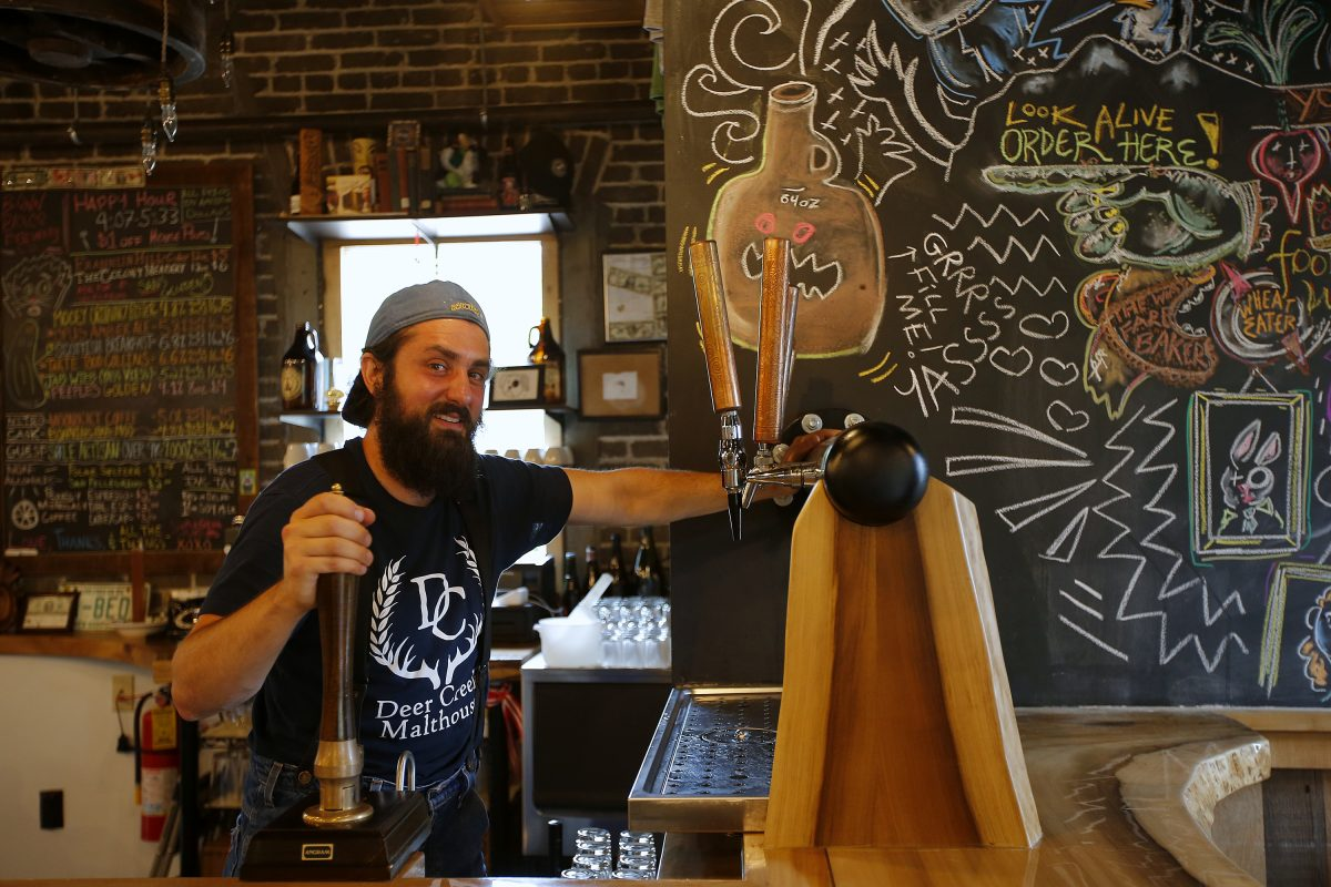Sam Masotto, owner of Bonn Place Brewing Co. in Bethlehem, says the India pale ale craze is overdone.
