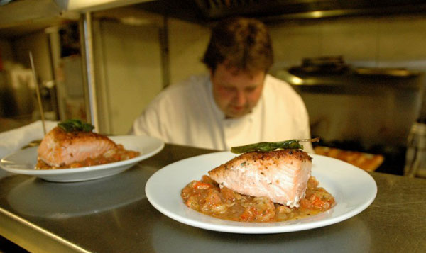 Chef Fred Kellermann at Elements Cafe, 517 Station Ave., Haddon Heights