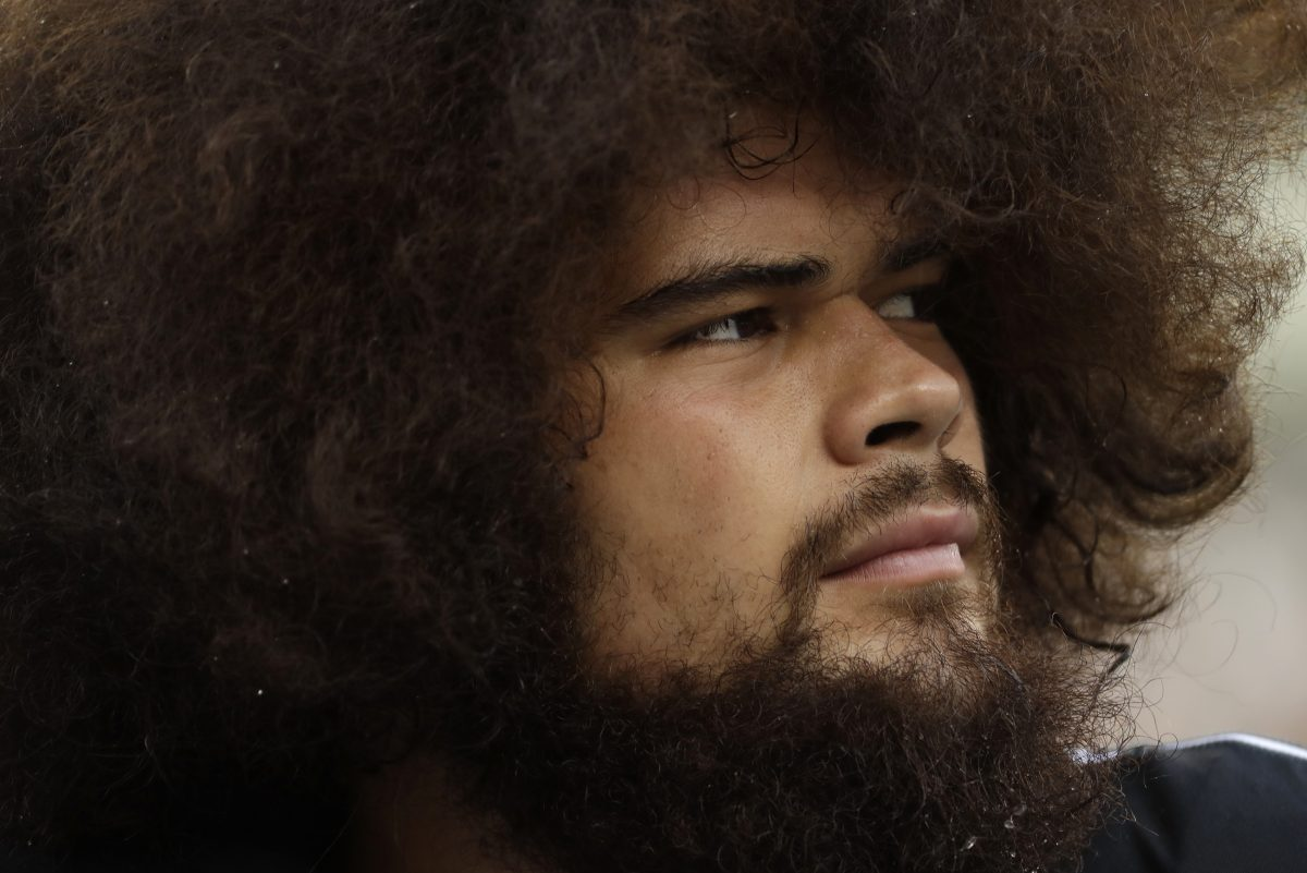 Isaac Seumalo, a tackle lately, was back at guard after Stefen Wisniewski went down