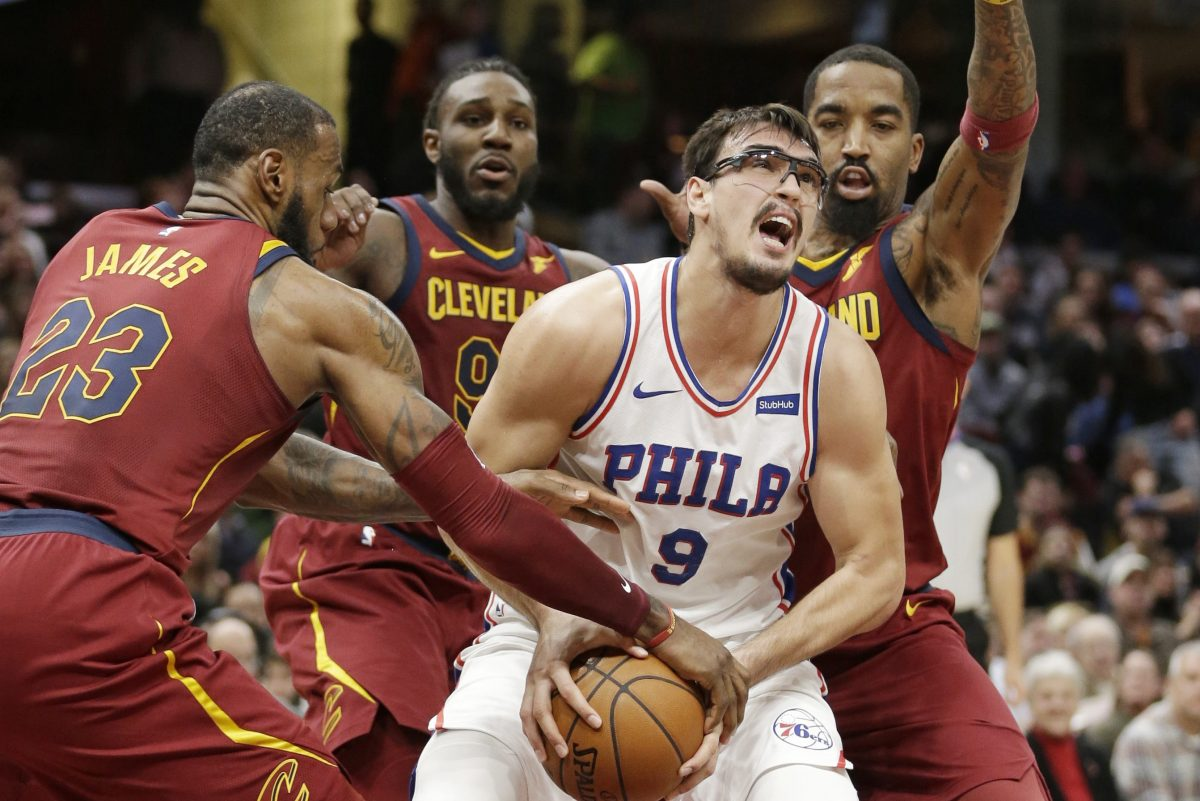 """ I know we are a young team,"" the Sixers' Dario Saric says, ""but we have to be less nervous and find a way to finish."""