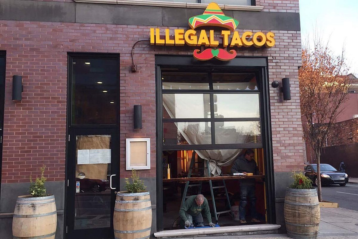 Illegal Tacos, 427 S. Broad St., before its opening.