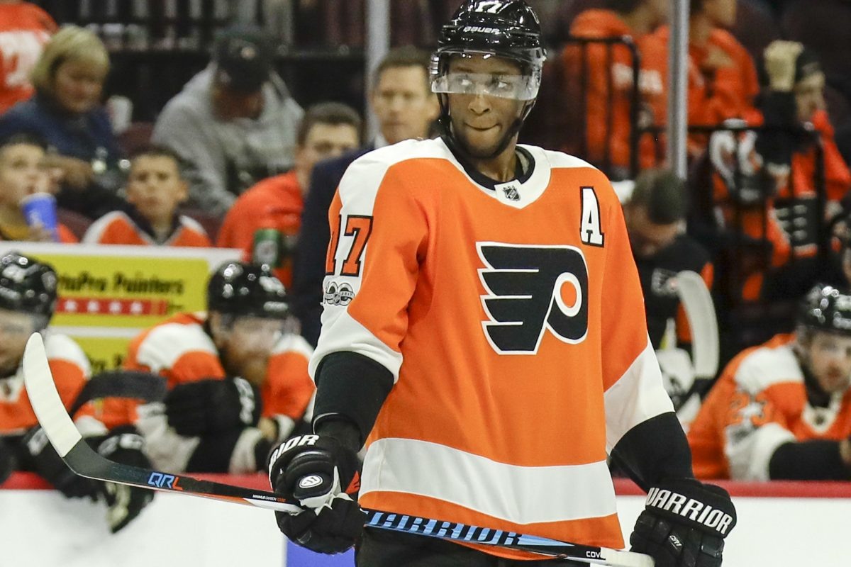 """This is my seventh season playing in Philadelphia and I can't remember ever having a bad home record. But somehow we still get booed,"" Flyers winger Wayne Simmonds said. ""It is what it is."""